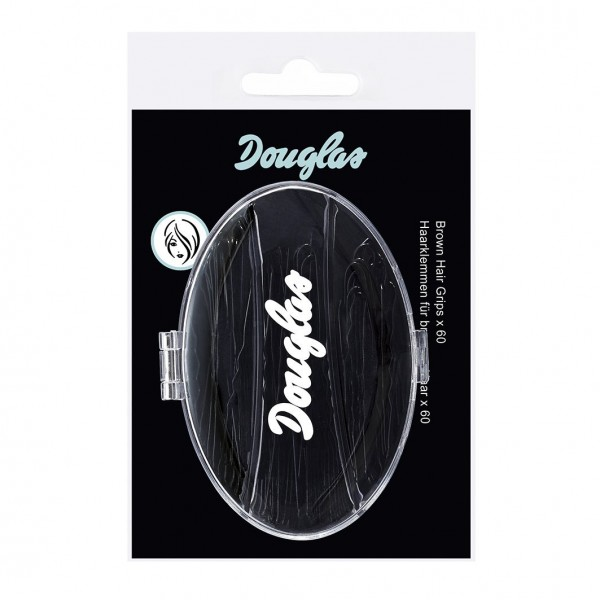 Douglas Make-up - Brown Hair Grips x60 - Brown