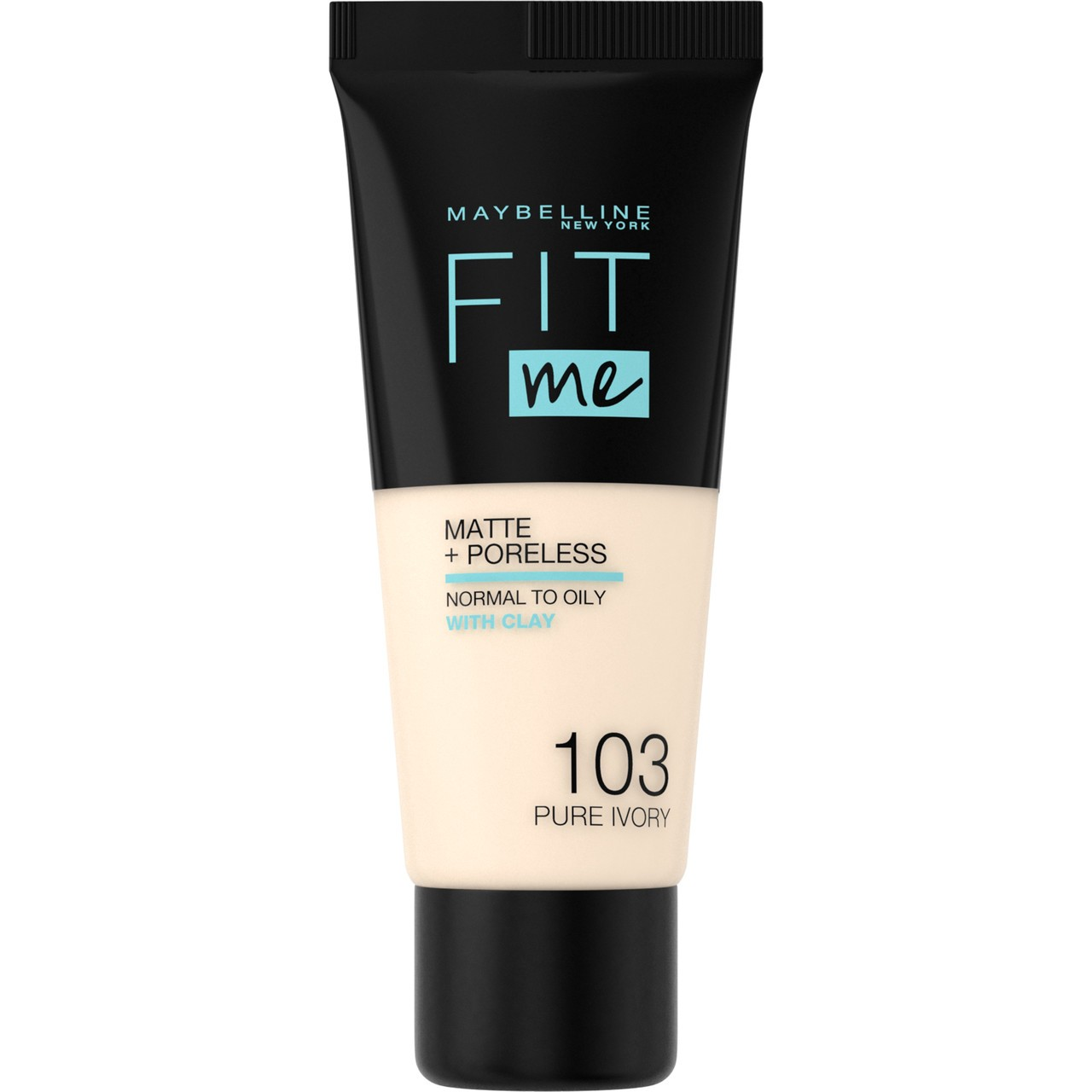 Maybelline - Base Liquida Fit Me Matte & Poreless -  103 - Pure Ivory