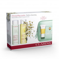 Clarins Cleansing+Refreshing Pele Normal Seca Set