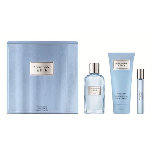 Abercrombie & Fitch - First Instinct Blue Woman Eau de Parfum 100Ml Set -