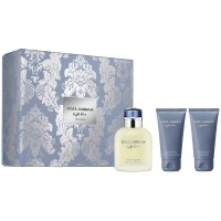 Dolce&Gabbana Light Blue Homme Eau de Toilette 125Ml Set