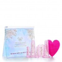 Crystallove Face And Body Cupping Rose Set