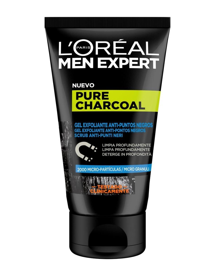 L'Oréal Paris - Men Expert Pure Charcoal Gel Esfoliante -