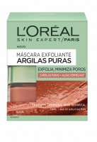 L'Oréal Paris Pure Clays Máscara Esfoliante Argila Vermelha