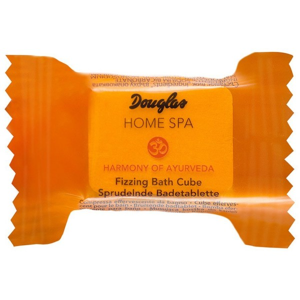 Douglas Home Spa - Harmony of Ayurveda Fizzing Bath Cube -