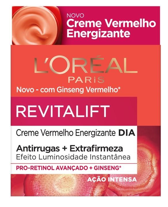 L'Oréal Paris - Revitalift Ginseng Energizante Creme Dia -