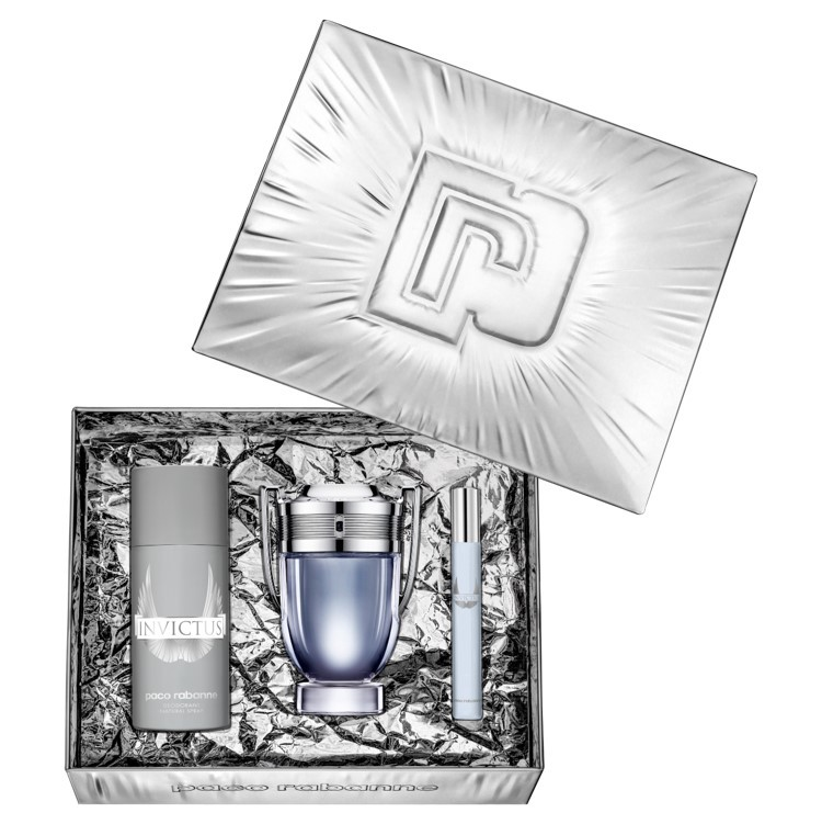 Paco Rabanne - Invictus Eau de Toilette 100Ml Set -