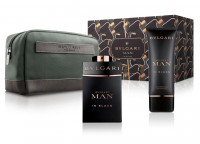 Bvlgari Man In Black Eau de Parfum 100Ml Set