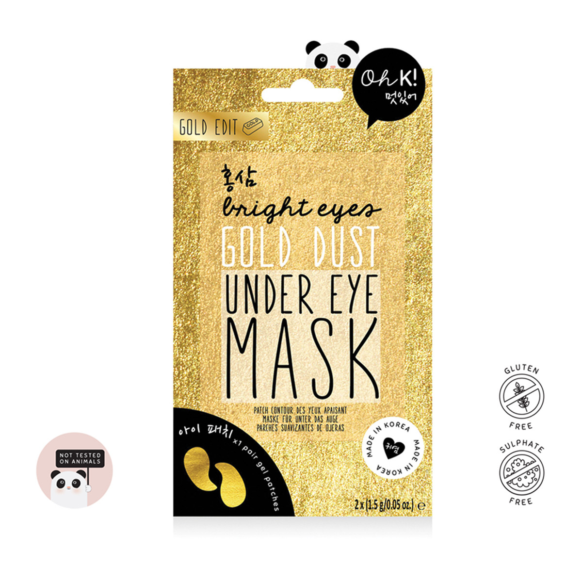 Oh K! - Gold Dust Under Eye Mask -