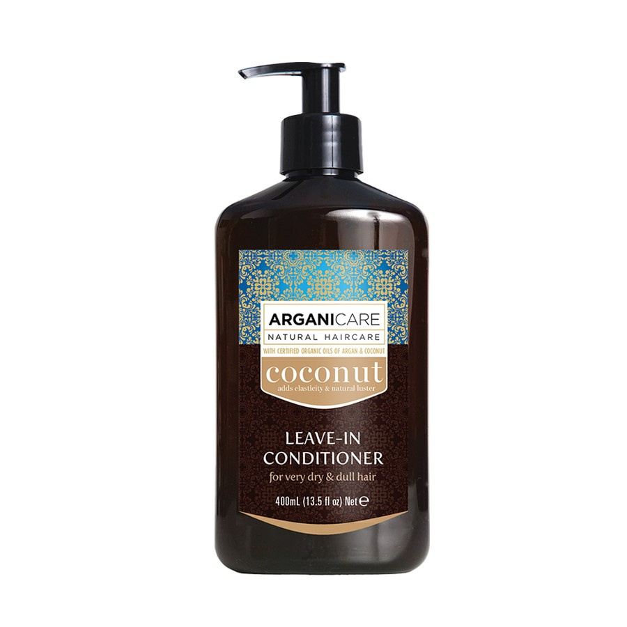 Arganicare - Leave In Conditioner Frizz Curly Hair -