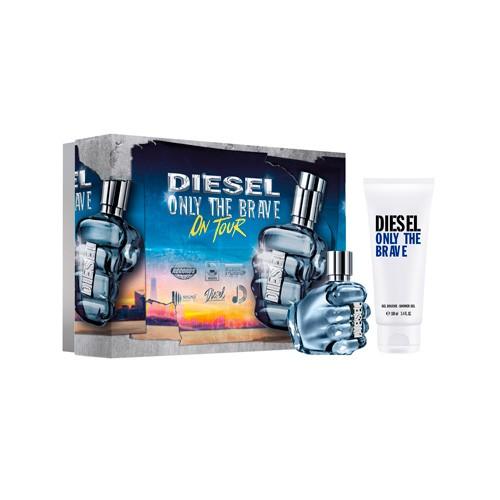 Diesel - Only The Brave Eau de Toilette Spray 50Ml Set -