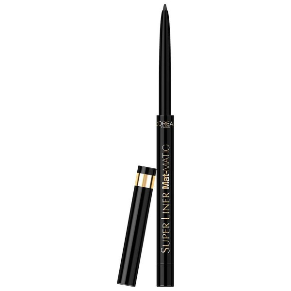 L'Oréal Paris - Super Liner Mat Matic - Nr. 01 Ultra Black
