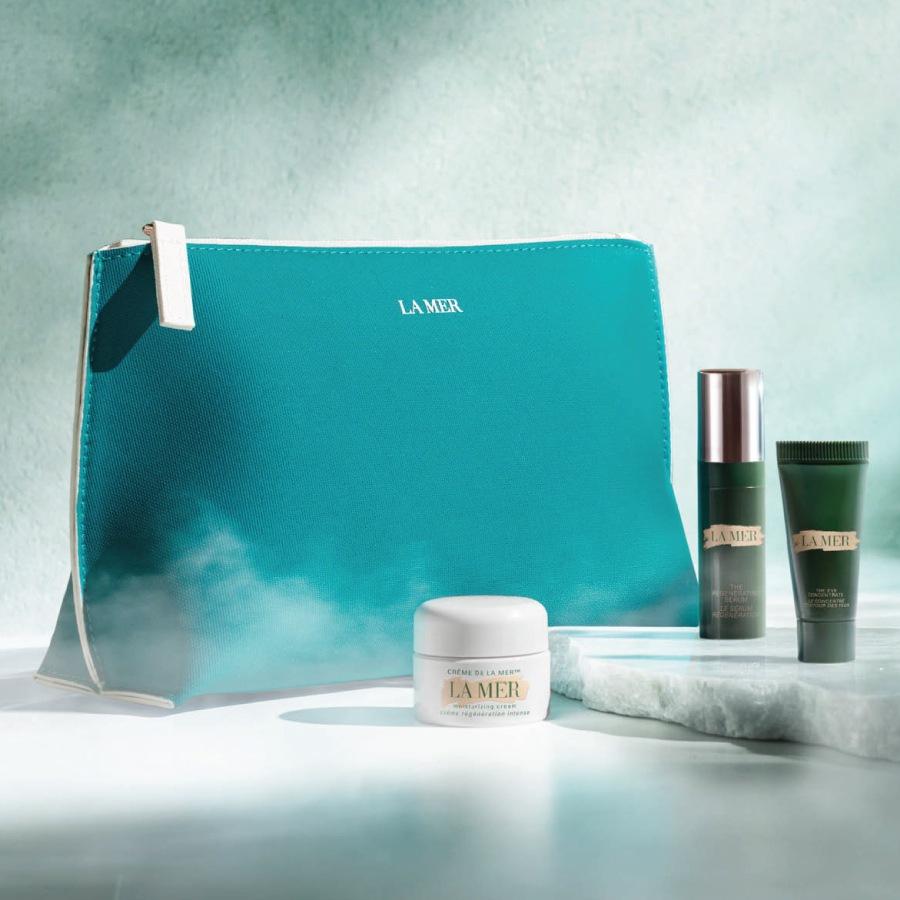 Oferta bolsa La Mer na compra de 2 produtos da marca