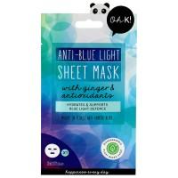 Oh K! Masks Anti-Blue Light Sheet Mask