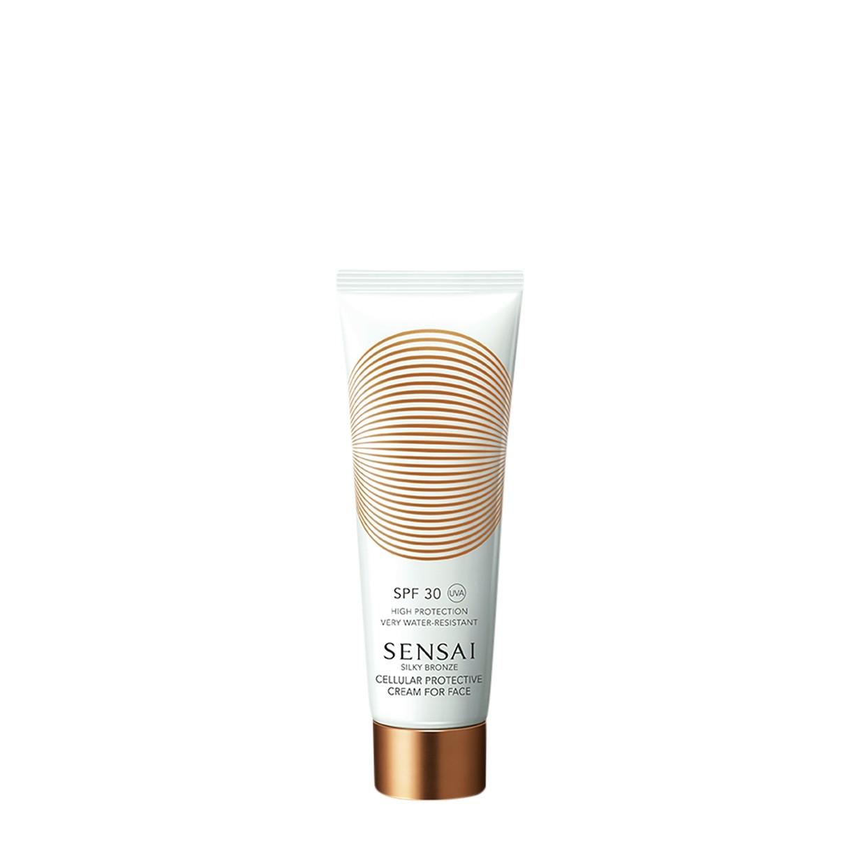 SENSAI - Sensai Silky Bronze Cell.Prot.Cream Face Spf 30 -