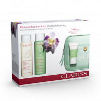 Clarins Cleansing+Refreshing Pele Mista Set