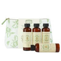 Panier des Sens Soothing Almond Travel Pouch Almond Set