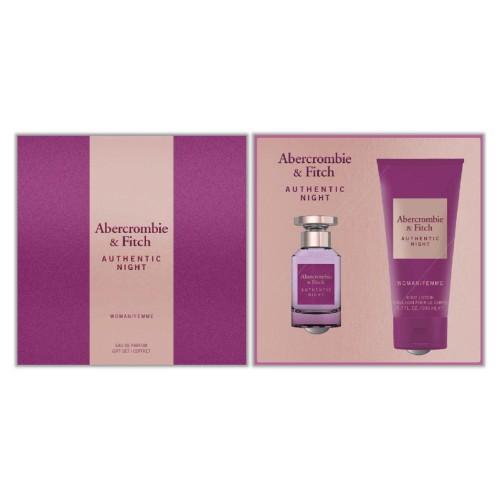 Abercrombie & Fitch - Authentic Night Woma Eau de Parfum 50Ml Set -