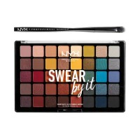 NYX Professional Makeup Shadow Palette Swear By It
