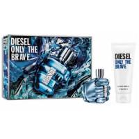 Diesel Only The Brave Eau de Toilette 50Ml Set