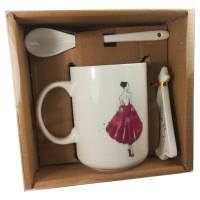 Douglas Exclusivos Special Moments Mug Giftset Girl Under Mistlet