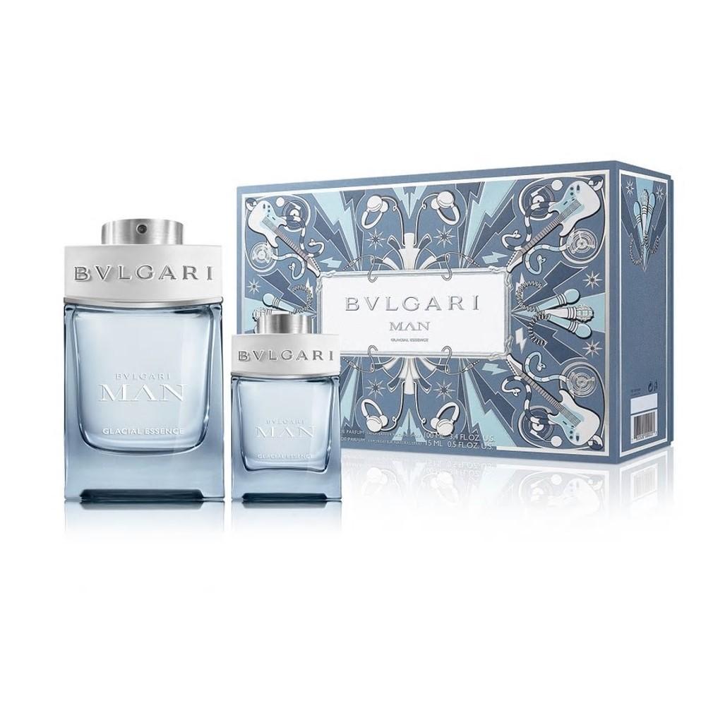 Bvlgari - Man Glacial Eau de Parfum 100Ml Set -