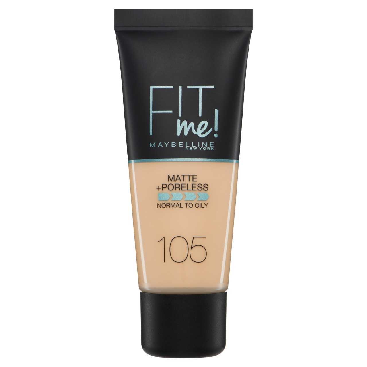 Maybelline - Base Liquida Fit Me Matte & Poreless -  105 - Fair Ivory