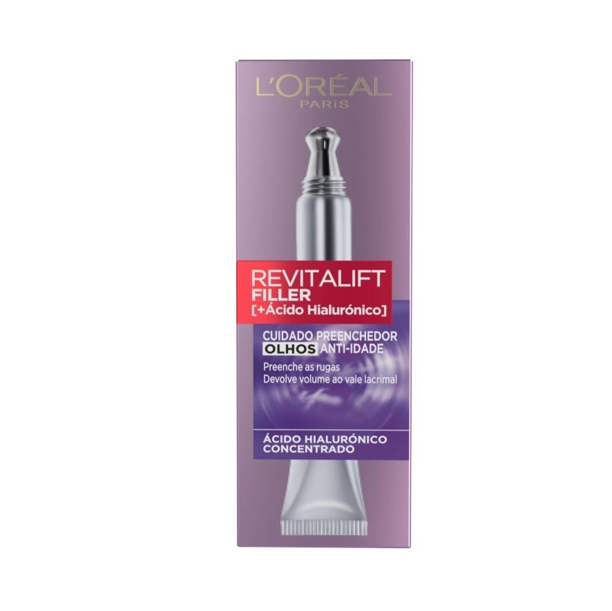 L'Oréal Paris - Revitalift Filler Creme Olhos -