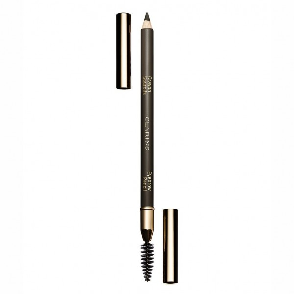 Clarins - Eyebrow Pencil - Nr- 01 - Dark Brown