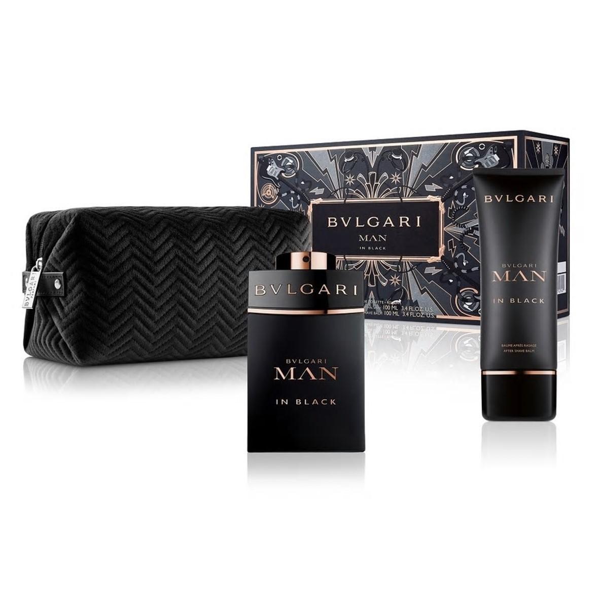 Bvlgari - Man In Black Eau de Parfum 100Ml Set -