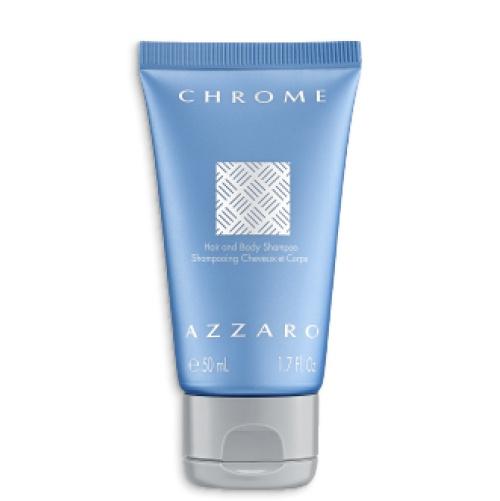 Oferta Chrome hair and body Shampoo 50ml em compras iguais ou superiores a 50 euros na marca Azzaro