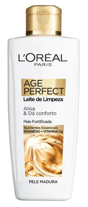 L'Oréal Paris - Age Perfect Clássico Leite Limpeza -