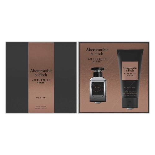 Abercrombie & Fitch - Authentic Night Men Eau de Toilette 50Ml Set -