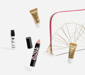 Sisley - Bolsa Gingko Doré na compra de 2 cuidados de rosto da marca.