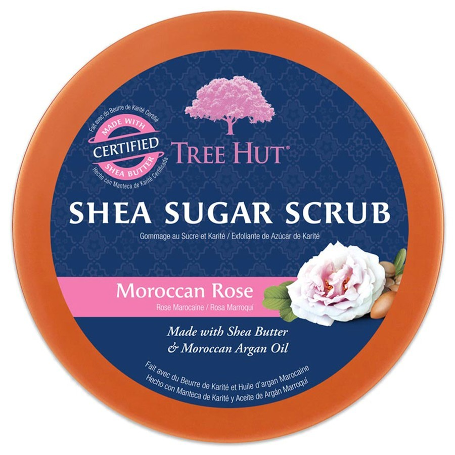 Tree Hut - Shea Scrub Moroccan Rose -