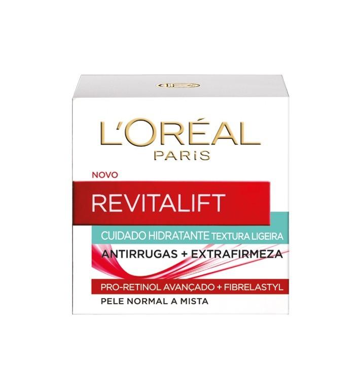 L'Oréal Paris - Revitalift Clássico Creme Dia Pele Mista -