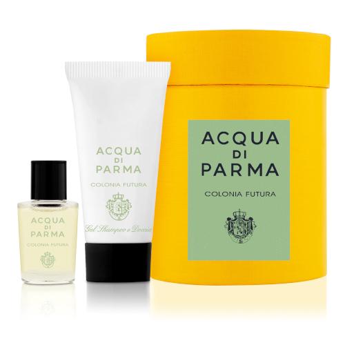 Oferta Acqua di Parma mini hatbox Colonia Futura na compra de uma fragrância da marca igual ou superior a 100ml