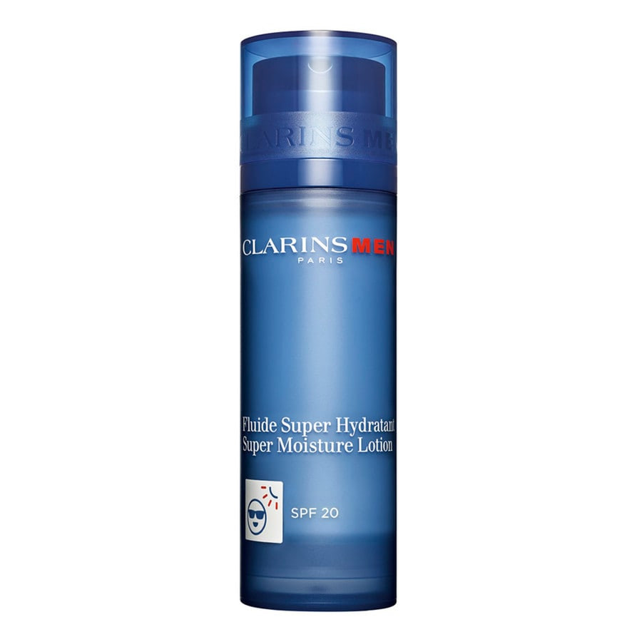 Clarins - Men Care Fluide Super Hydratant SPF20 -