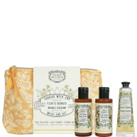 Panier des Sens Orange Blossom Travel Pouch Orange Set