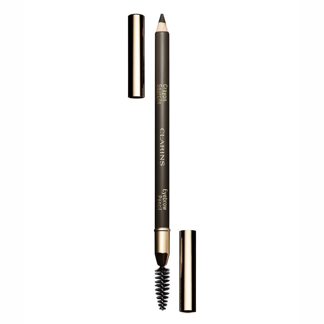Clarins - Eyebrow Pencil - Nr- 01 - Dark Brown