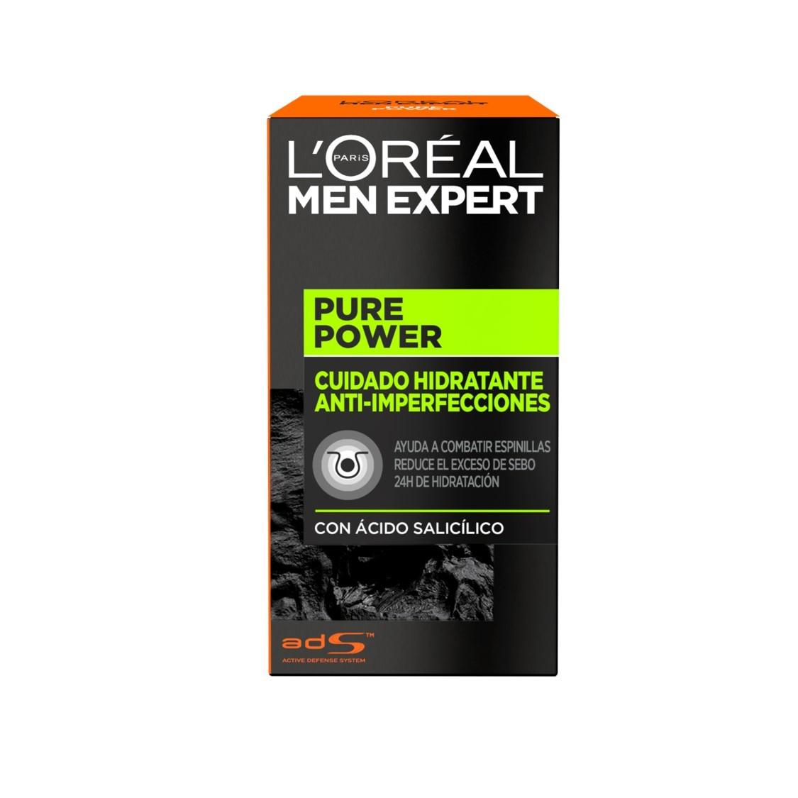 L'Oréal Paris - Men Expert Pure Power Creme Rosto -