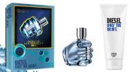 Diesel Only The Brave Eau de Toilette 50Ml Set