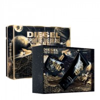 Diesel Spirit Of The Brave Eau de Toilette 50Ml Set