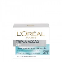 L'Oréal Paris Triple Active Creme de Dia Pele Normal-Mista