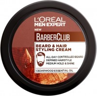 L'Oréal Paris Men Expert Barber Club Creme Fixação