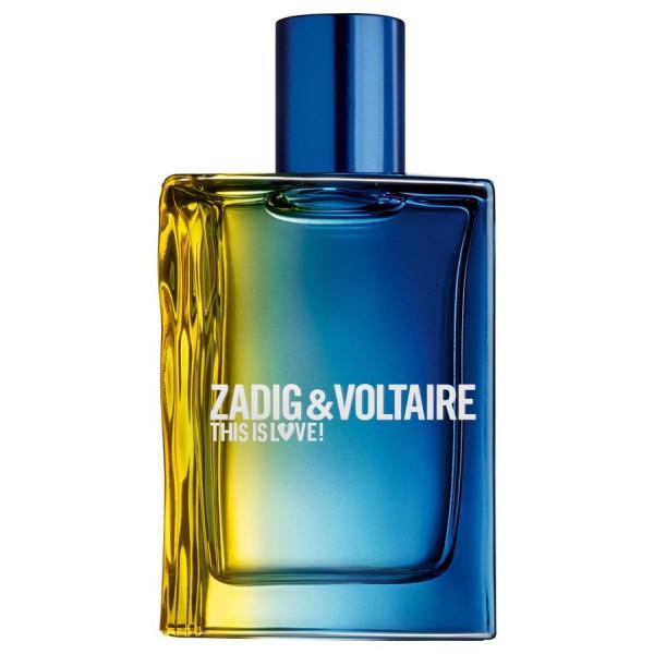 Zadig & Voltaire - This Is Love Him Love Pour Lui Eau de Toilette -  50 ml