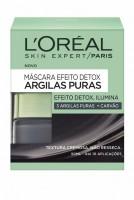 L'Oréal Paris Pure Clays Máscara Iluminadora Argila Preta