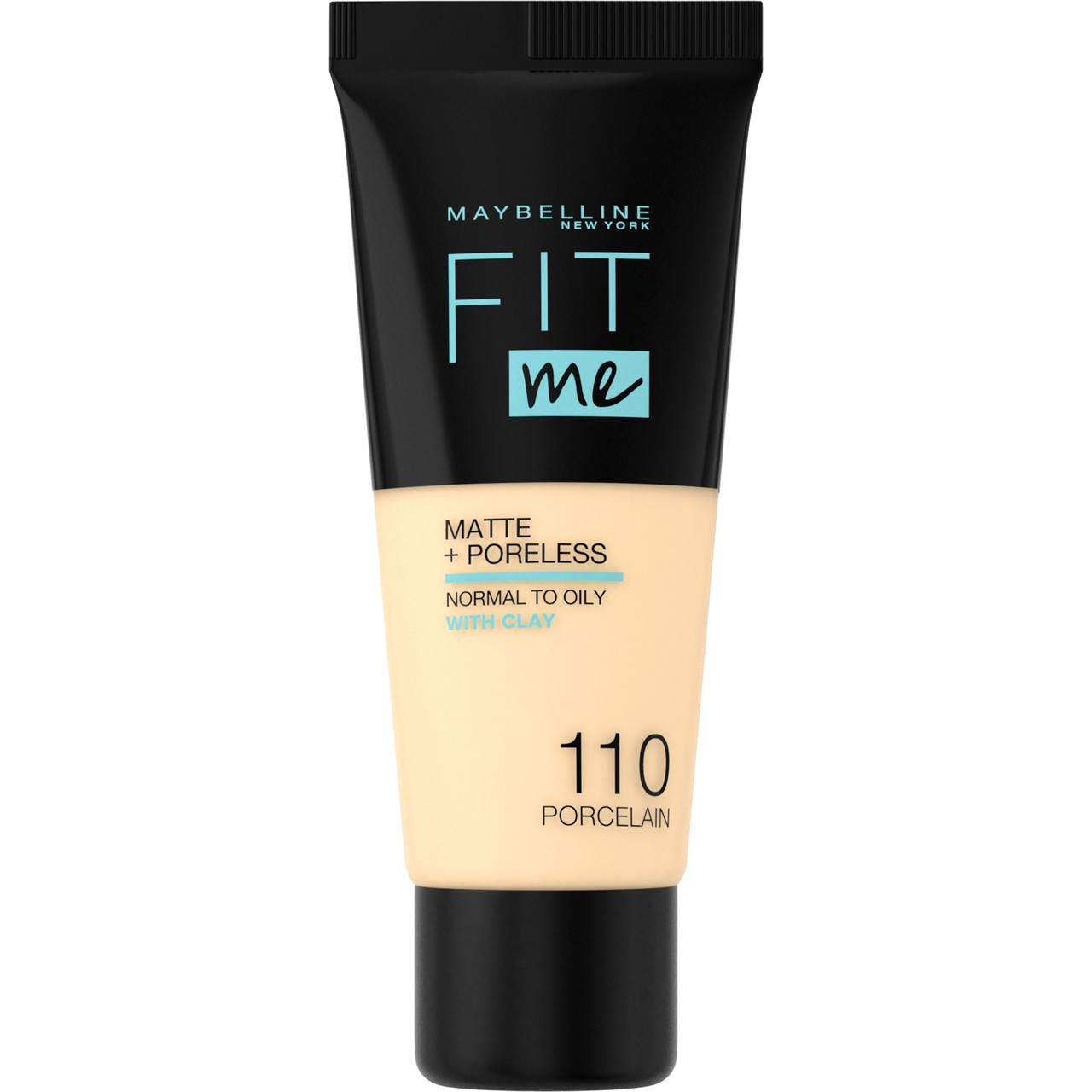 Maybelline - Base Liquida Fit Me Matte & Poreless -  110 - Porcelain