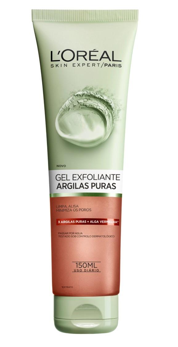 L'Oréal Paris - Pure Clays Gel Limpeza Facial Esfoliante -