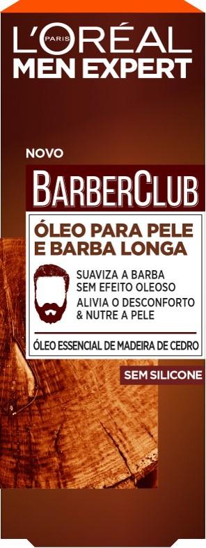 L'Oréal Paris - Men Expert Barber Club Óleo Rosto e Barba -